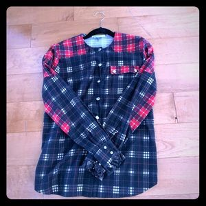 Givenchy plaid shirt